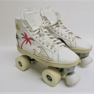 Saint Laurent Disco Palm Tree Roller Skates